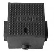 Caixa P20 Com Corrente Para Telefone (21X21Cm) Em Ffn