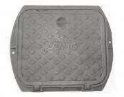 Tampão Zbg Articulado Cemig (57X50Cm) Em Ff  - FUNDIÇÃO VESUVIO