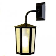 Luminária Colonial Sextavada Grande