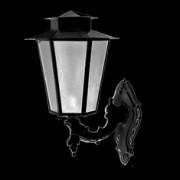 Luminária Colonial Sextavada