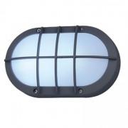 Luminária Tartaruga Oval Com Grade