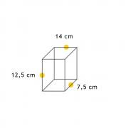 Arandela Flash Meia Face Triângulo Lisa  - FUNDIÇÃO VESUVIO