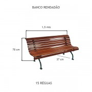 Banco Rendadão  - FUNDIÇÃO VESUVIO