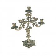 Castiçal Uva Em Bronze 3 Velas