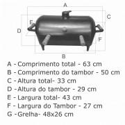 Churrasqueira A Bafo Tambor  - FUNDIÇÃO VESUVIO