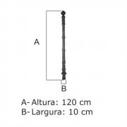 Coluna Nº 05 Gigante  - FUNDIÇÃO VESUVIO