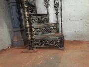 """Escada Caracol, Diâmetro de 1,10 mts e Patamar Redondo - """"PREÇO POR METRO DE ALTURA""""  - FUNDIÇÃO VESUVIO"""