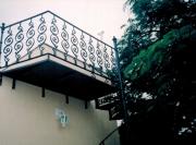 """Escada Caracol, Diâmetro de 1,40 mts e Patamar Redondo - """"PREÇO POR METRO DE ALTURA""""  - FUNDIÇÃO VESUVIO"""