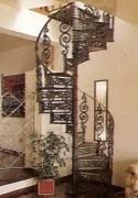 Escada Caracol Em Ferro Fundido