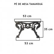 Pé De Mesa Tamanduá (Par)   - FUNDIÇÃO VESUVIO