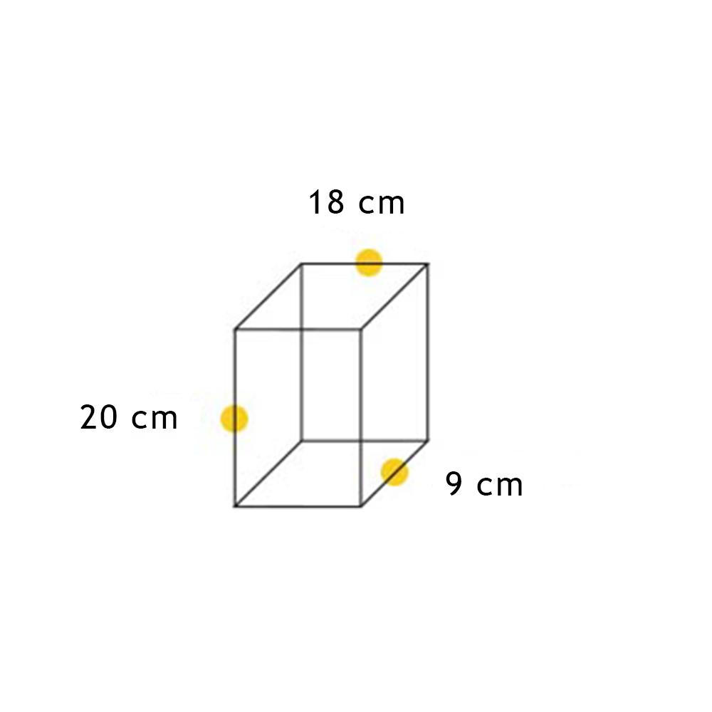 Arandela Flash Meia Face Triângulo Lisa 04L - FUNDIÇÃO VESUVIO