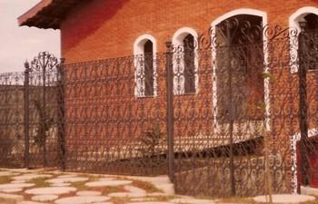 Portão Em Grade De Ferro Fundido - FUNDIÇÃO VESUVIO