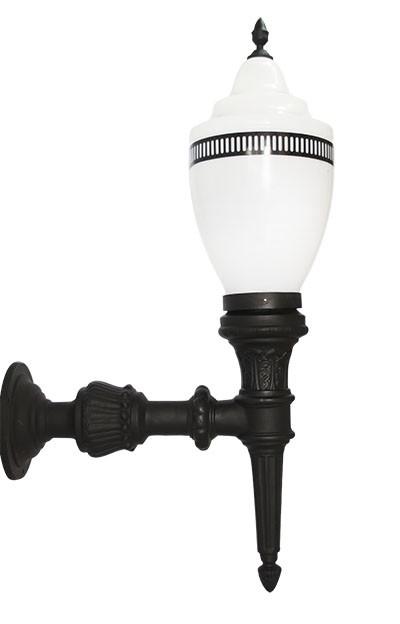 Luminária Com Braço Republicana Grande - FUNDIÇÃO VESUVIO