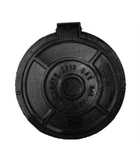 Tampão T100 Articulado Cl300 (56Cm) Com Travas E Anel De Polietileno Com Anti-Roubo, Parafuso E Taramela Em Ffn - FUNDIÇÃO VESUVIO