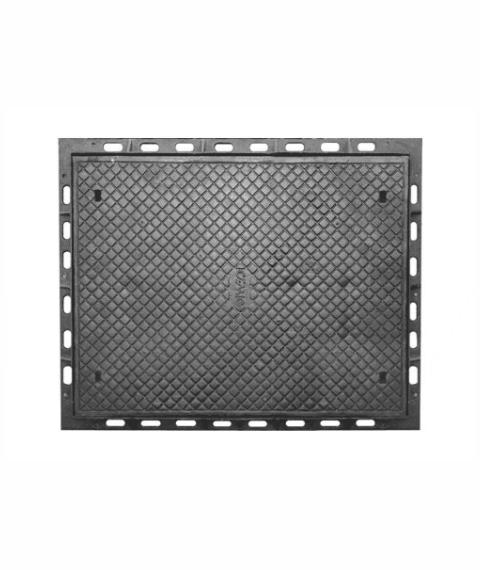 Tampão Zd Cl400 (120X94,5Cm) Para Rede De Distribuição Subterrânea Em Ffn - FUNDIÇÃO VESUVIO