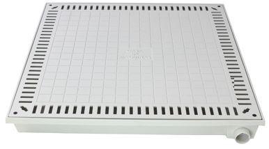 Tampão 80X80Cm Simples Para Casa De Máquina Em Af - FUNDIÇÃO VESUVIO