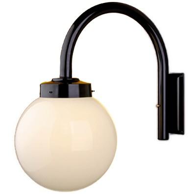 Luminária De Braço Solarium Redondo Globo 30Cm - FUNDIÇÃO VESUVIO