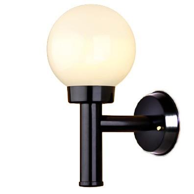 Luminária Com Braço Solarium C/ Globo 20Cm - FUNDIÇÃO VESUVIO