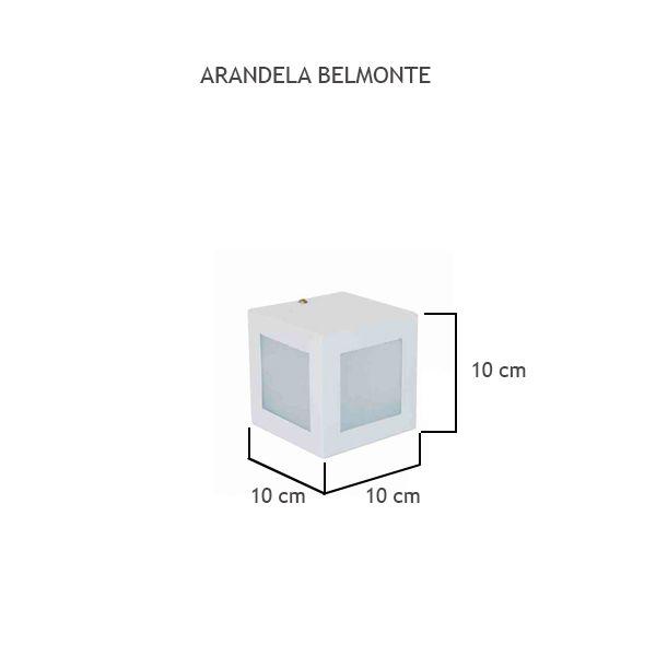 Arandela Belmonte - FUNDIÇÃO VESUVIO