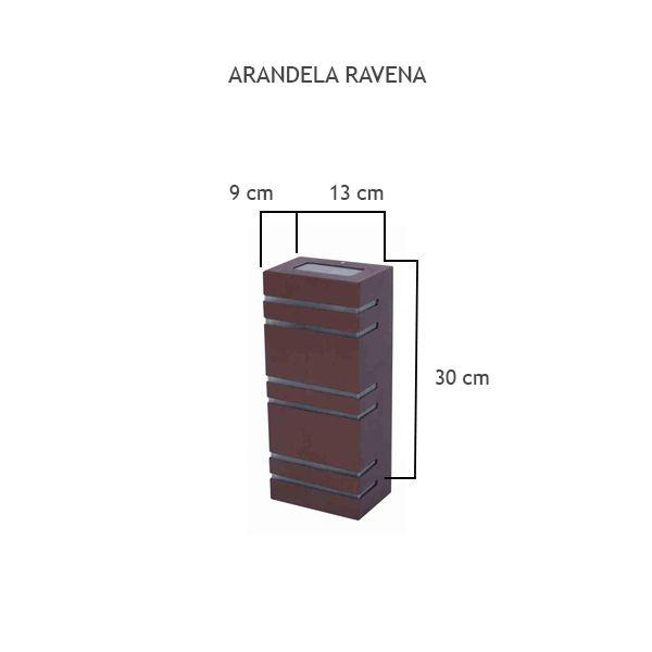 Arandela Ravena - FUNDIÇÃO VESUVIO