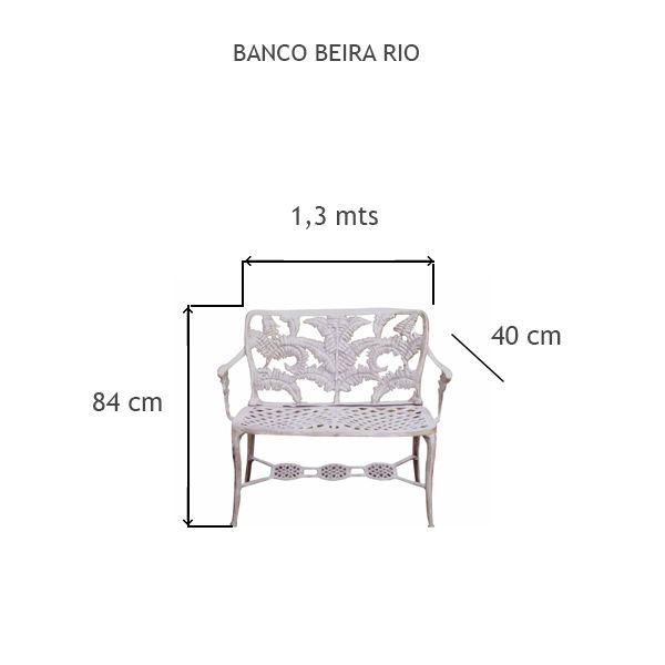 Banco Beira Rio - FUNDIÇÃO VESUVIO