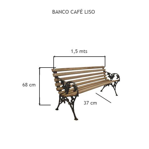 Banco Café Liso - FUNDIÇÃO VESUVIO