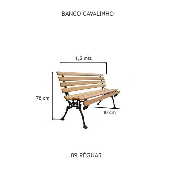 Banco Cavalinho - FUNDIÇÃO VESUVIO