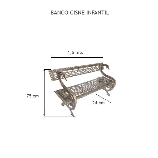 Banco Cisne Infantil - FUNDIÇÃO VESUVIO
