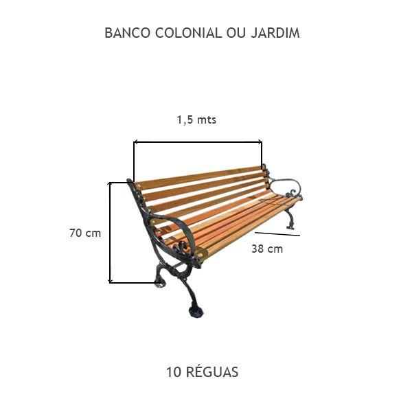 Banco Colonial - FUNDIÇÃO VESUVIO