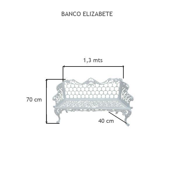 Banco Elizabete - FUNDIÇÃO VESUVIO