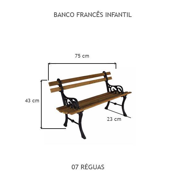 Banco Francês Infantil - FUNDIÇÃO VESUVIO