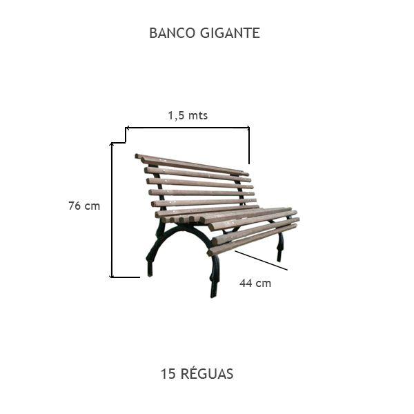 Banco Gigante - FUNDIÇÃO VESUVIO