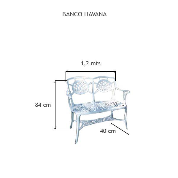 Banco Havana - FUNDIÇÃO VESUVIO