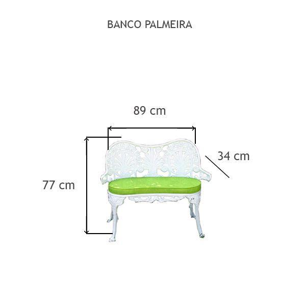 Banco Palmeira - FUNDIÇÃO VESUVIO