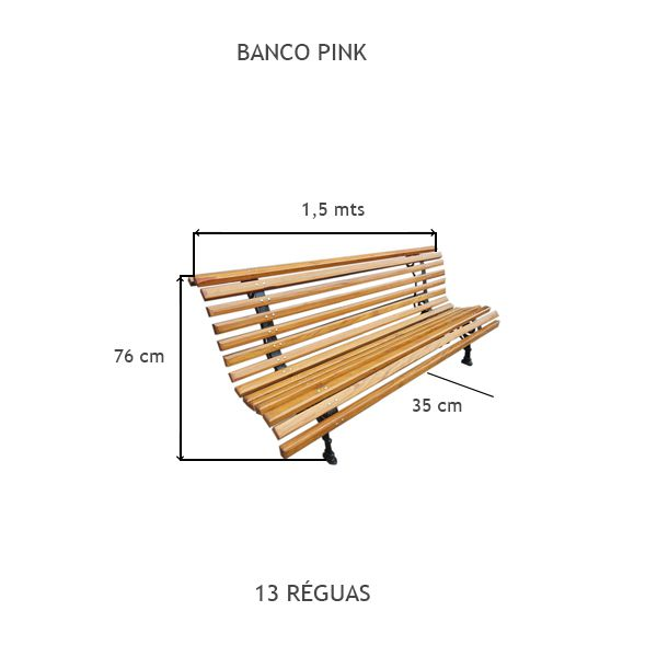 Banco Pink - FUNDIÇÃO VESUVIO
