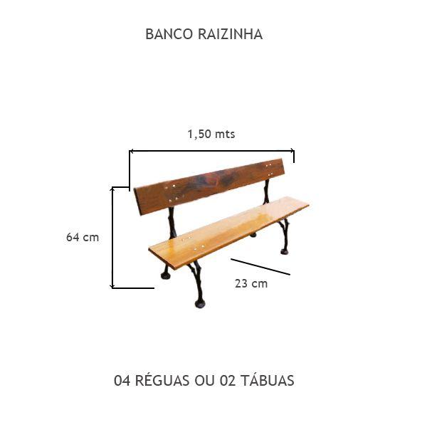 Banco Raizinha - FUNDIÇÃO VESUVIO