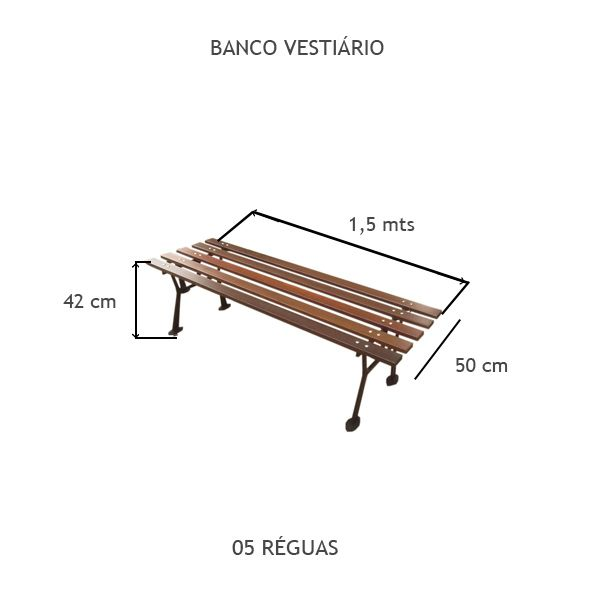 Banco Vestiário - FUNDIÇÃO VESUVIO
