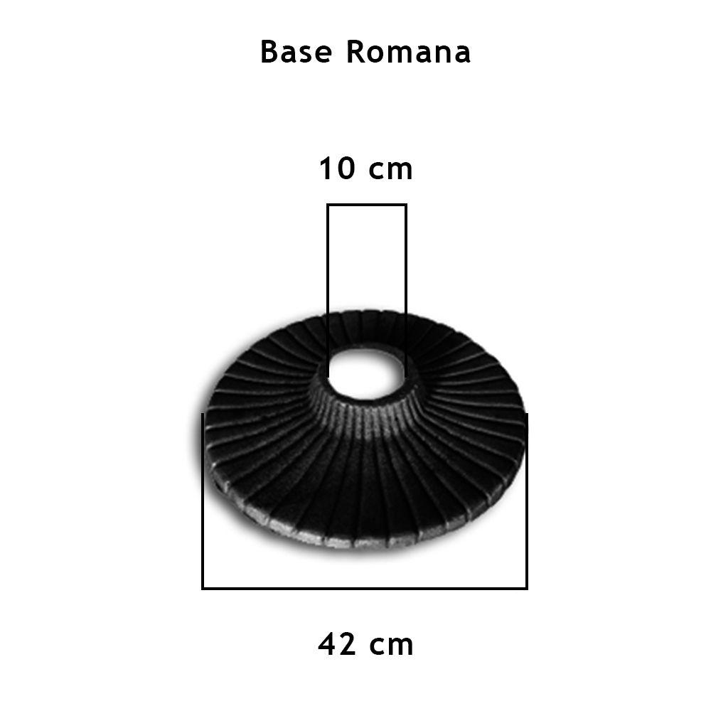 Base Do Pé De Mesa Romano  - FUNDIÇÃO VESUVIO