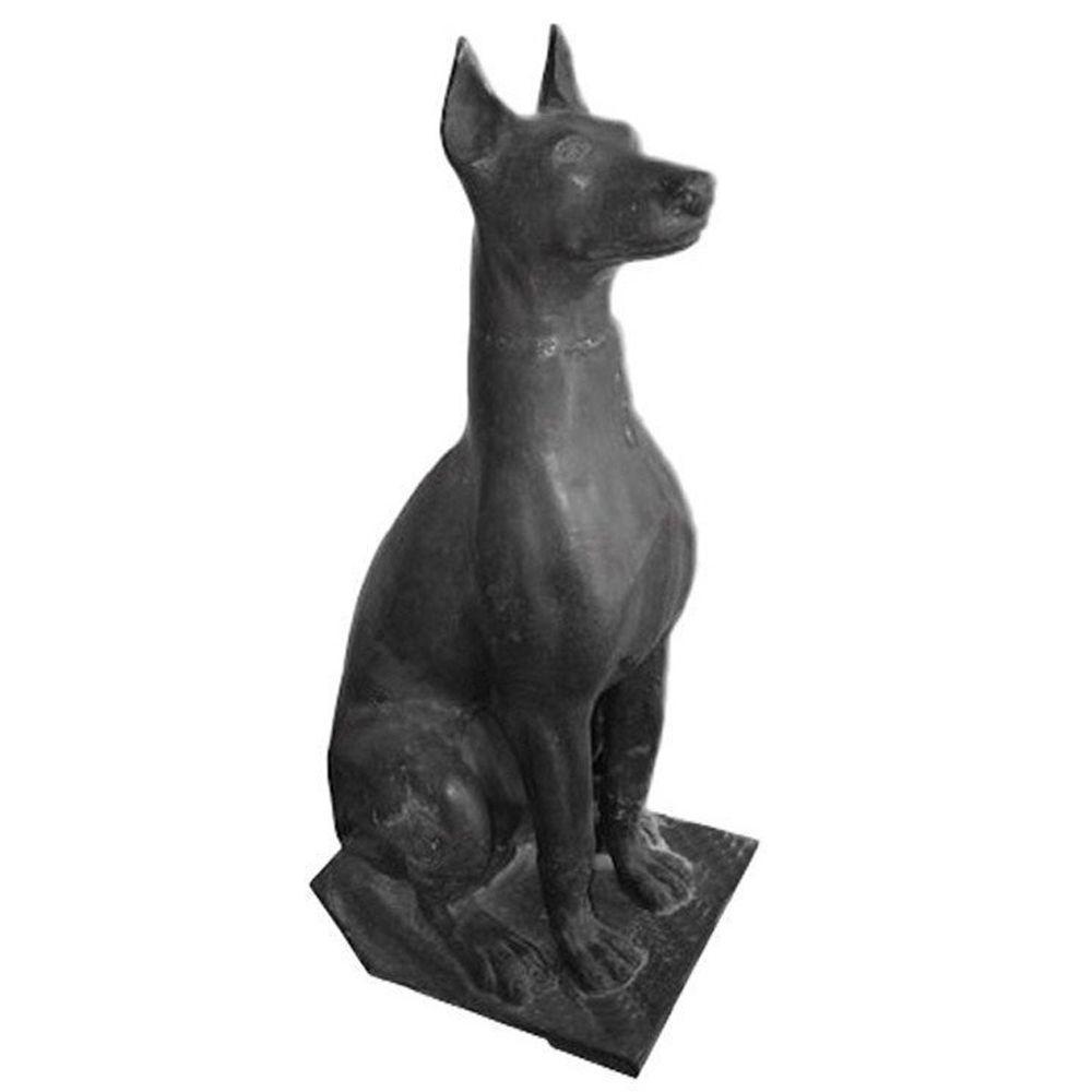 Cachorro Decorativo em Ferro Fundido - FUNDIÇÃO VESUVIO