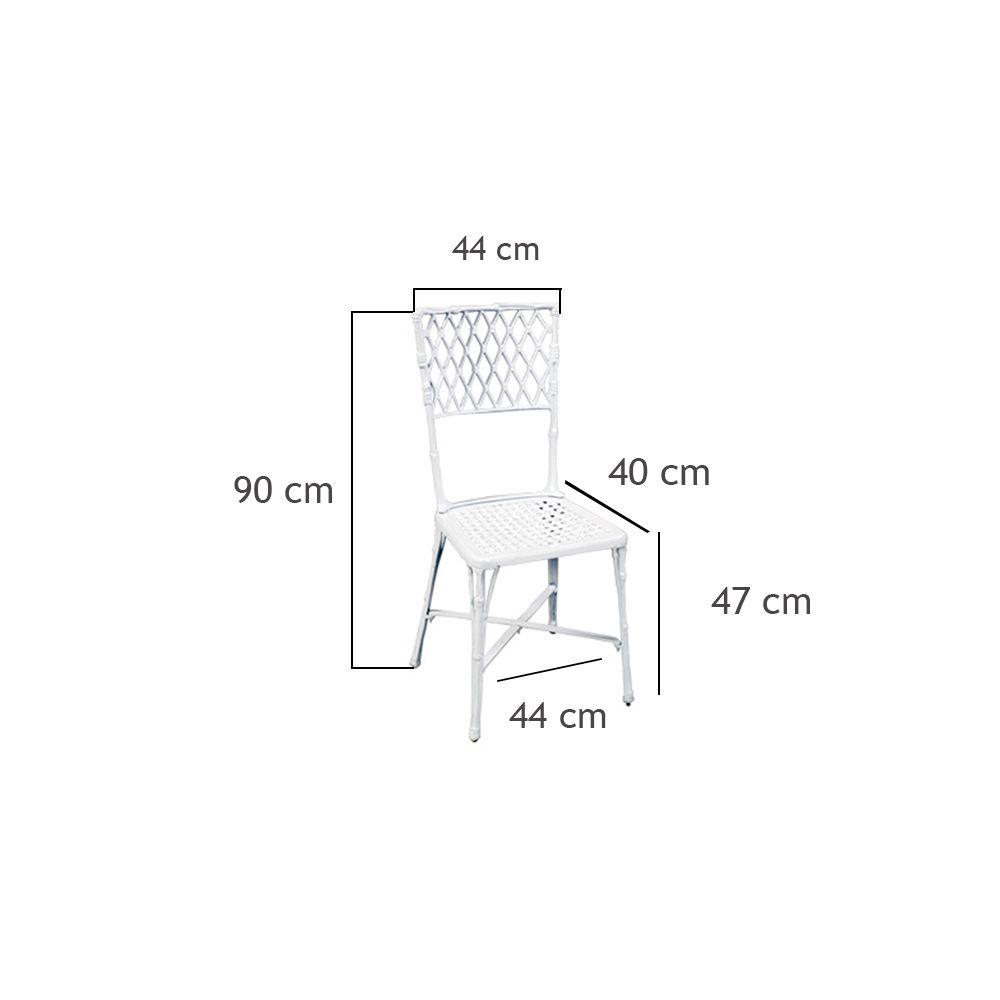 Cadeira Bambú - FUNDIÇÃO VESUVIO