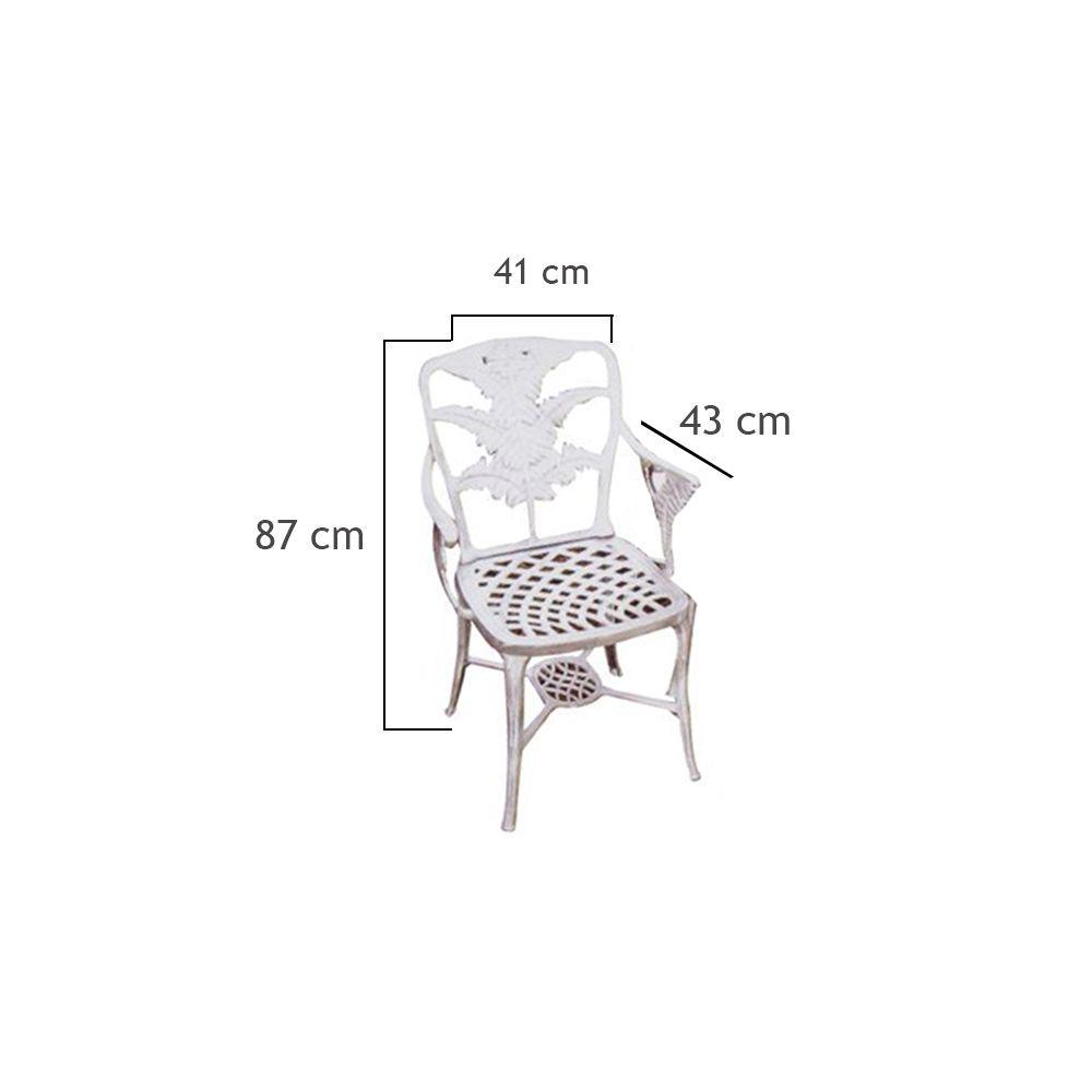 Cadeira Beira Rio - FUNDIÇÃO VESUVIO