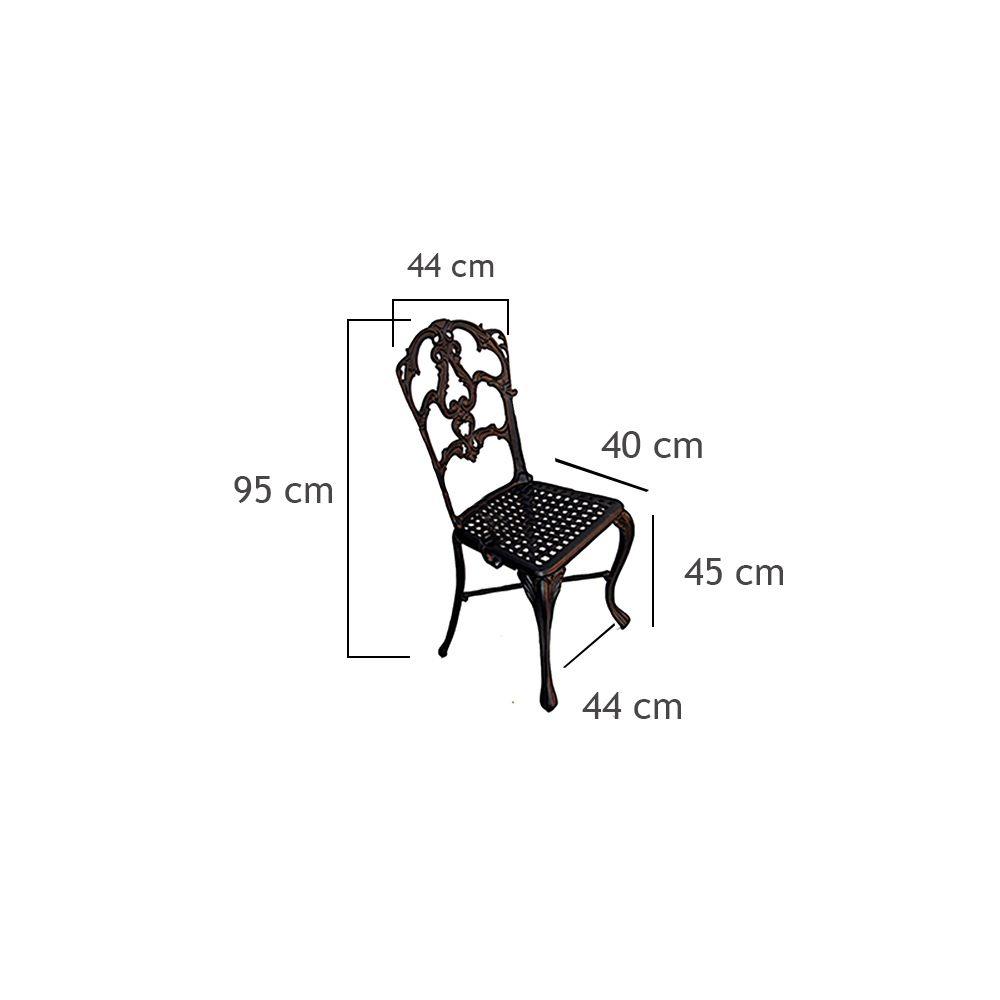 Cadeira Veneza - FUNDIÇÃO VESUVIO