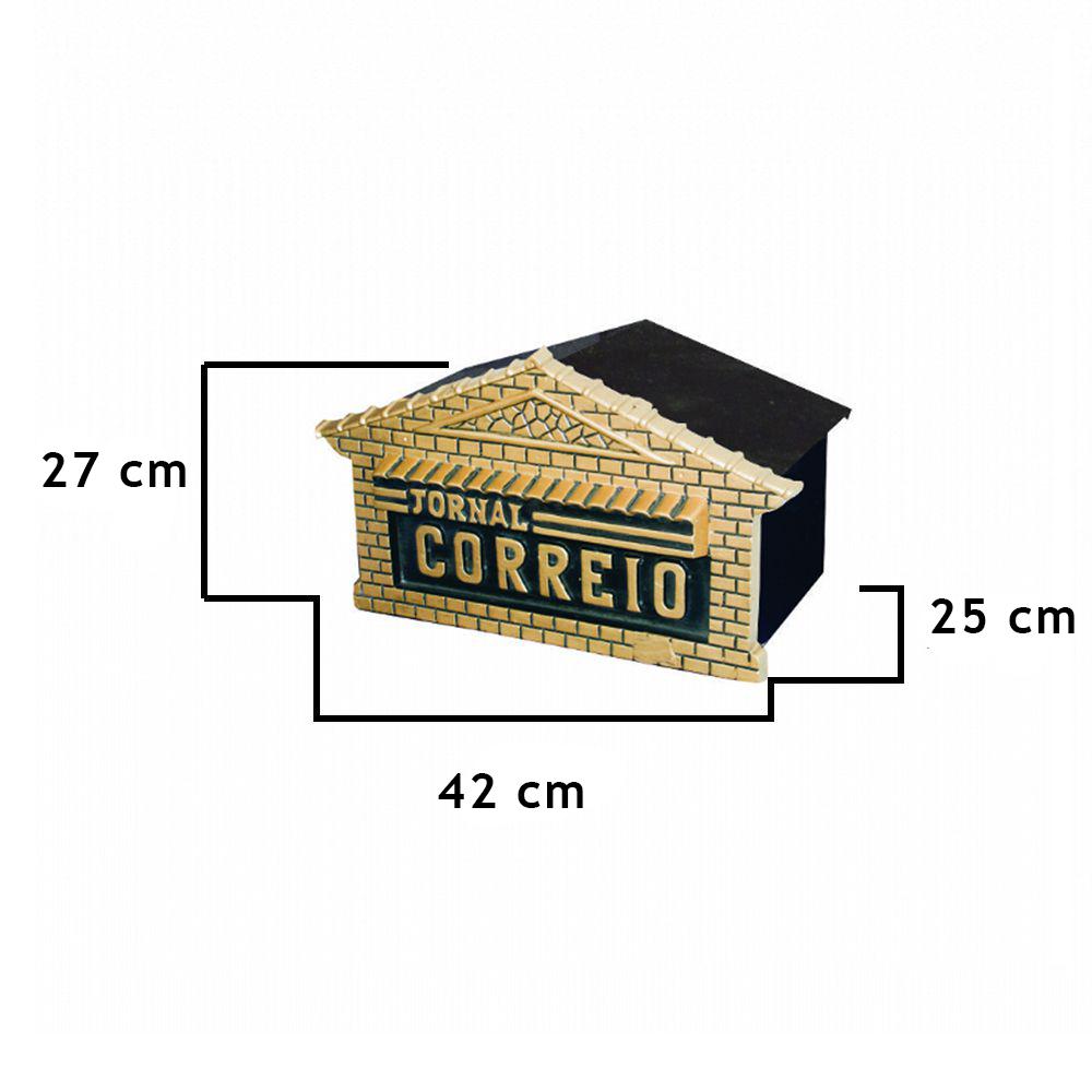 Caixa De Correio Alvorada Chalé - FUNDIÇÃO VESUVIO