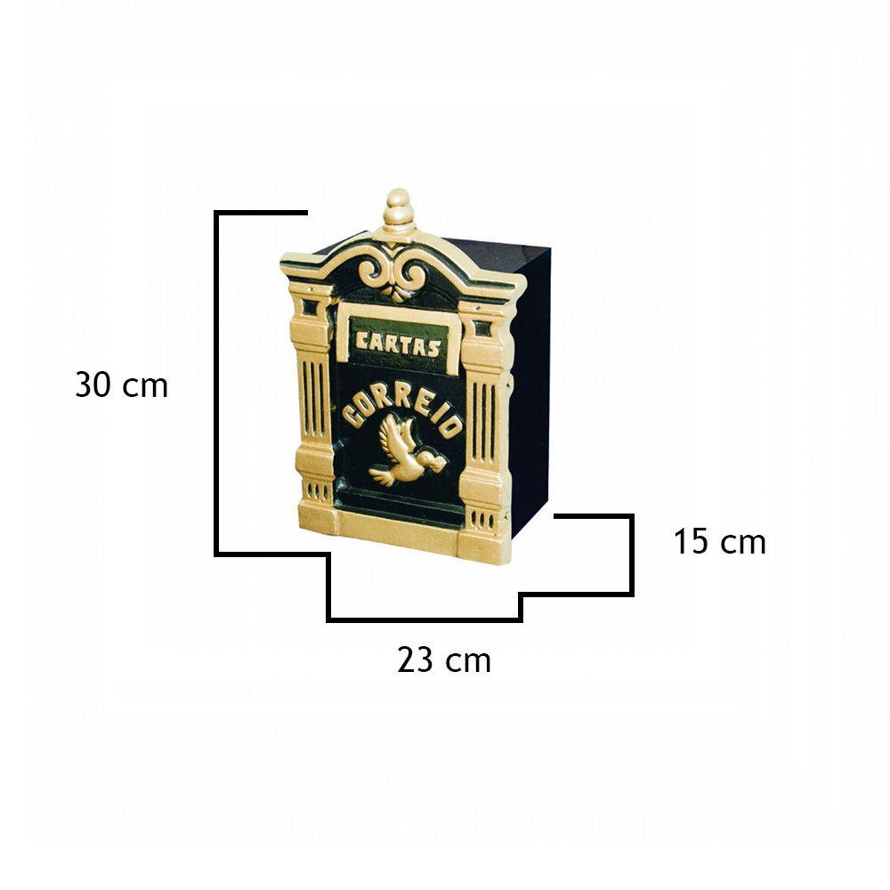 Caixa De Correio Diamantina - FUNDIÇÃO VESUVIO