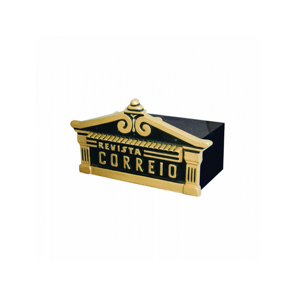 Caixa De Correio Ouro Fino - FUNDIÇÃO VESUVIO