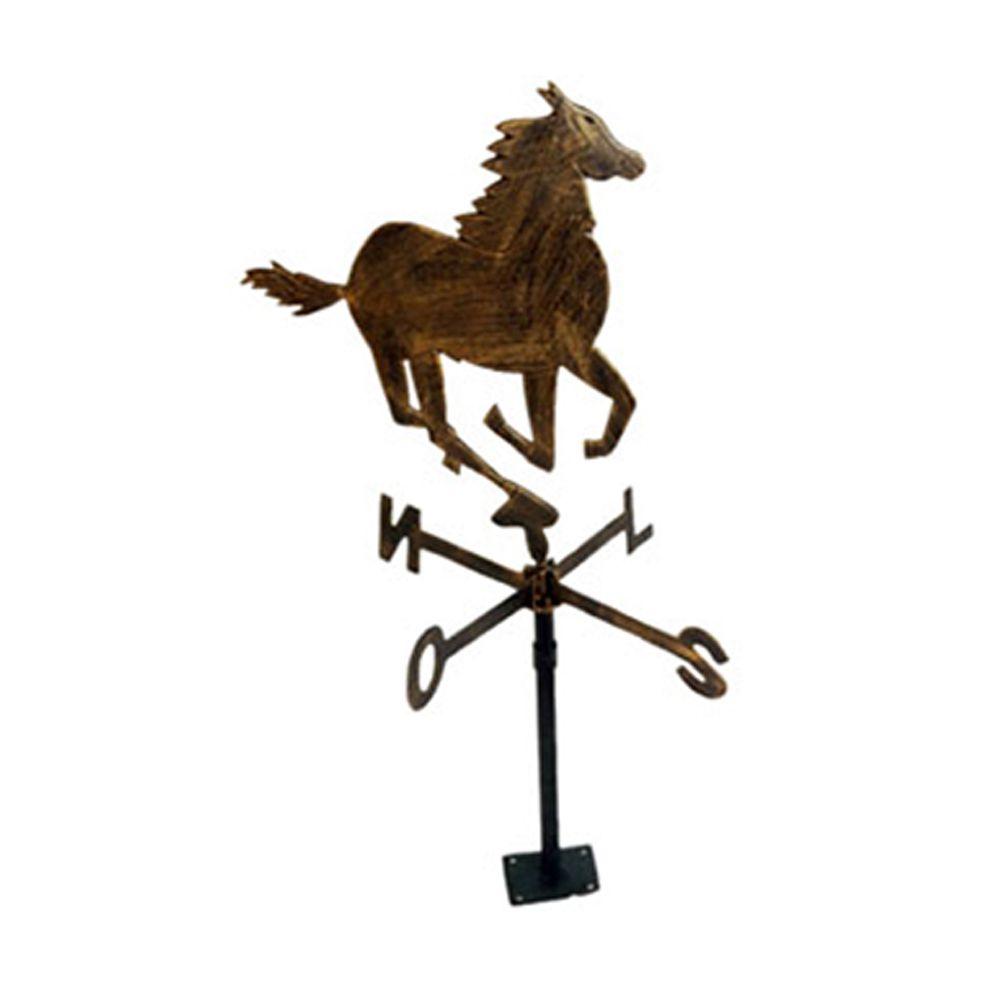Cavalo Do Vento Com Suporte - FUNDIÇÃO VESUVIO