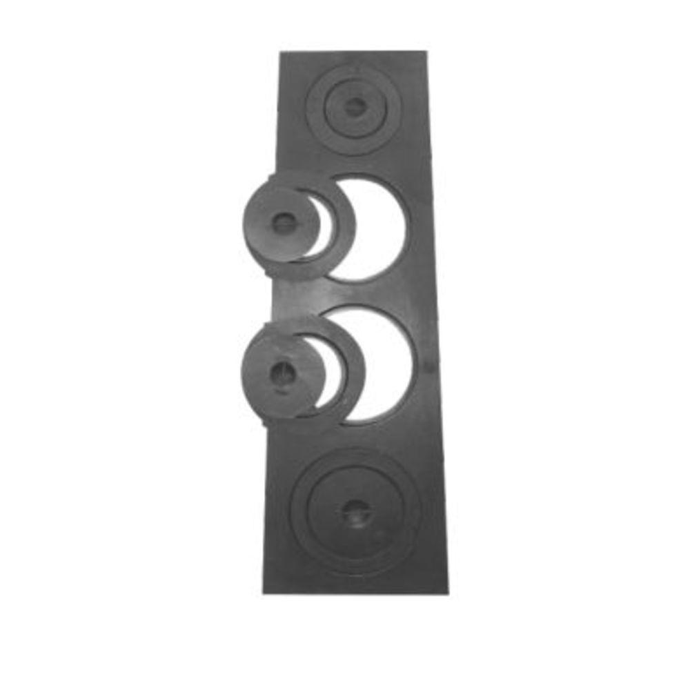 Chapa Para Fogão 4 Furos Com Redução Completa (97,5X33,5X28Cm) - FUNDIÇÃO VESUVIO
