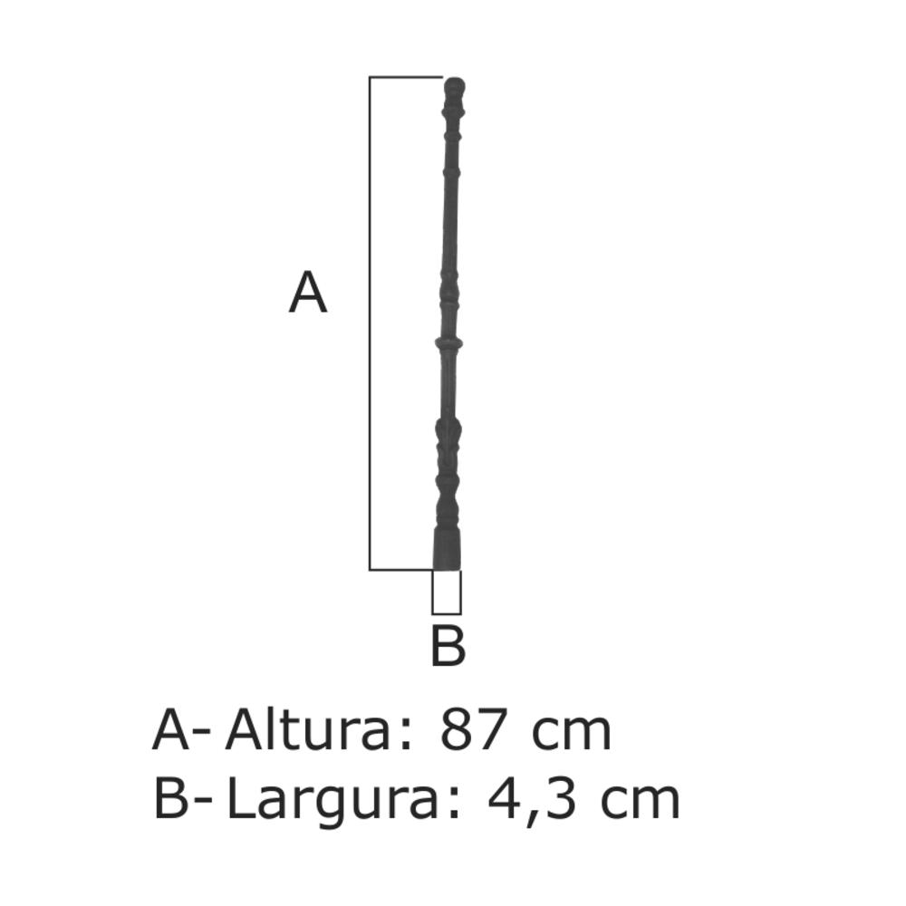 Coluna Nº 08 - FUNDIÇÃO VESUVIO