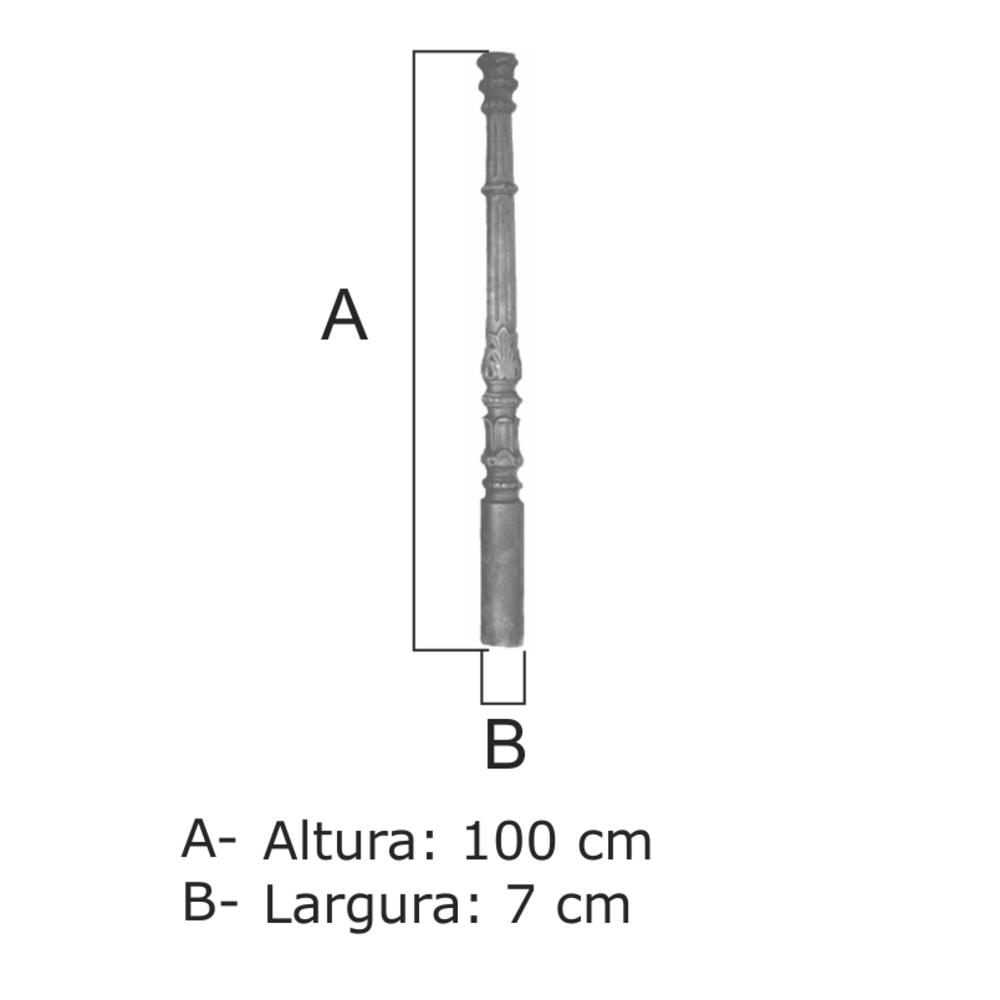 Coluna Nº13 - FUNDIÇÃO VESUVIO