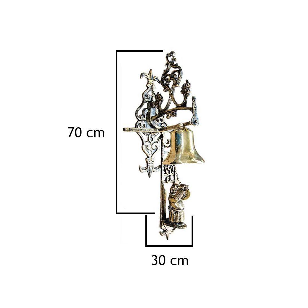 Frade Fn4 Aluminio Com Sino De Bronze - FUNDIÇÃO VESUVIO